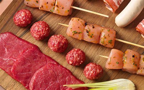 gesunde soßen zu fleisch tischgrill kochen am tisch