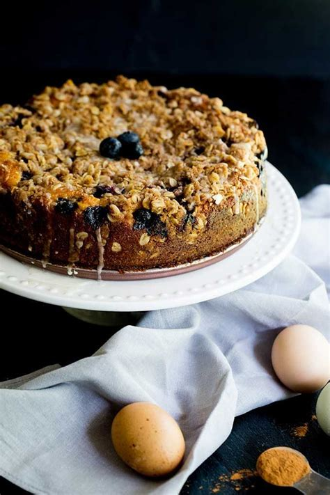 Easy and simple with simple ingredients sour cream cake. Blueberry Sour Cream Coffee Cake   Recipe   Coffee cake, Sour cream coffee cake, Blueberry desserts