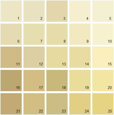 benjamin paint colors yellow palette 04 house