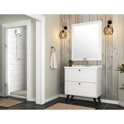 Gabinete para Banheiro sem Tampo Pietra 80cm - Bosi ...
