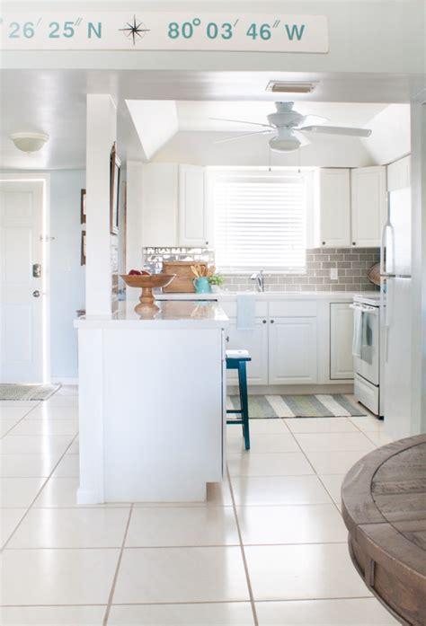beach condo kitchen makeover  lilypad cottage