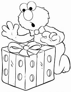Elmo Coloring Page Pictures to Pin on Pinterest - TattoosKid