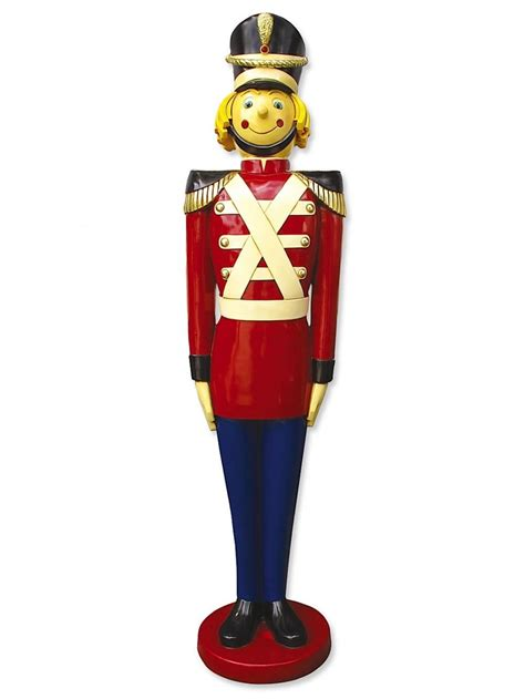 resin tin soldier decor  large decor inflatables