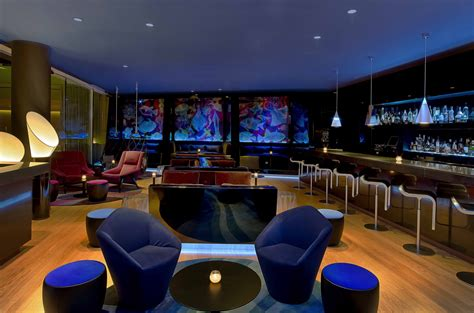 Bar W Hotel by W Barcelona Unveils Innovative Design For New W Lounge