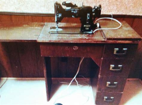 pfaff sewing machine cabinet antique pfaff 130 sewing machine in cabinet nex tech