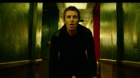 Liam Gallagher Unveils Wall Of Glass Video