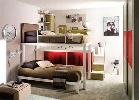 interior exterior plan  bunk beds   teens sharing  room