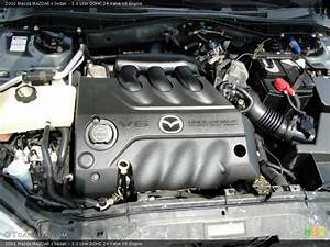 3 0 Liter Dohc 24 Valve V6 Engine For The 2003 Mazda