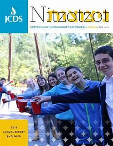 Nitzotzot & Annual Report 2016 by JCDS, Boston's Jewish ...