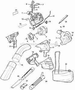 Black And Decker Bv2800 Parts List And Diagram