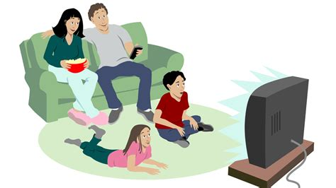 Kids Watch Tv As Parents Do, Not As They Say