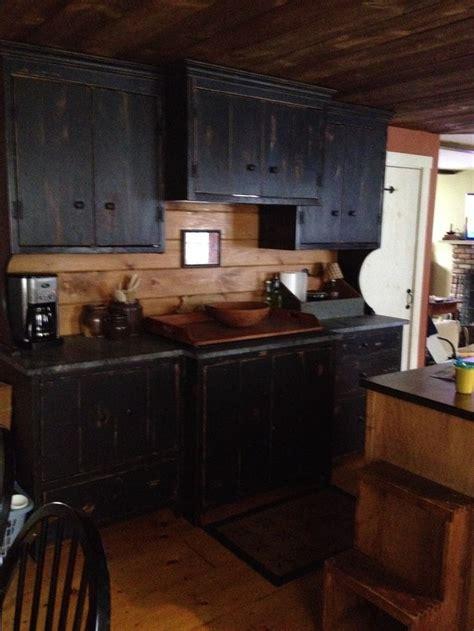primitive kitchen cabinets ideas  pinterest