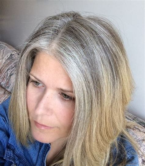 reasons  stopped coloring  hair silver linings