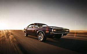 Dodge Challenger In Desert Speed Car HD Wallpaper