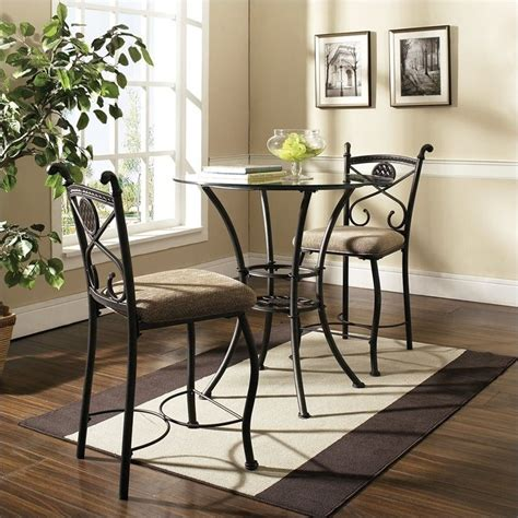 steve silver brookfield counter height dining table in