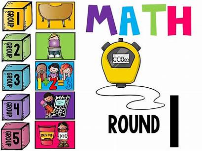 Math Workshop Guided Rotation Clipart Daily Board