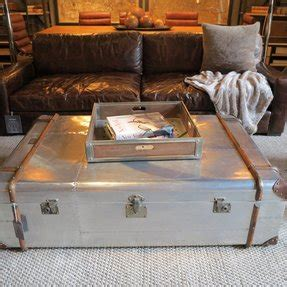 Shop metal trunk coffee table at bellacor. Aluminum Trunks - Ideas on Foter