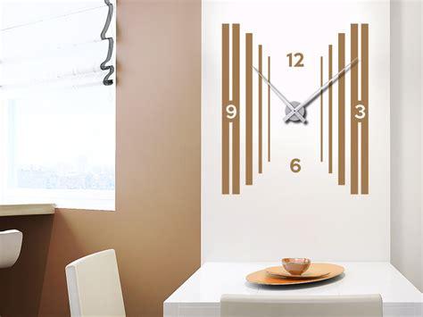 Moderne Uhren Für Die Wand by Wandtattoo Uhr 3d Optik Wanduhr Wandtattoo De