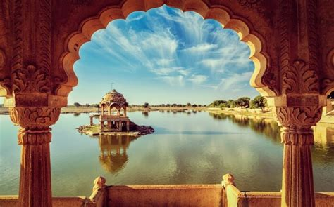 beautiful lakes  rajasthan      trip