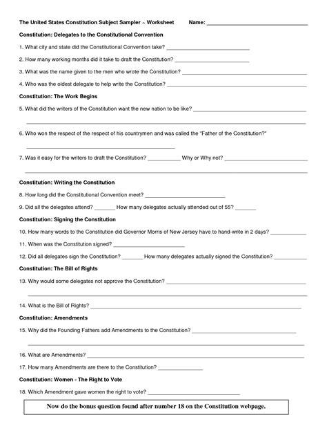 preamble   constitution worksheet preamble worksheet