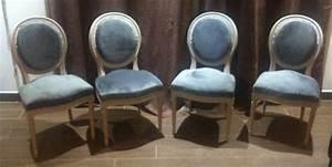 Tapisser Une Chaise : retapisser fauteuil medaillon ~ Melissatoandfro.com Idées de Décoration