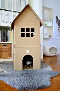 diy cardboard cat house 3 you can create a custom kitty house