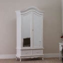 Shabby Chic Armoire Uk by French Shabby Chic 2 Door Rococo Wardrobe Armoire White