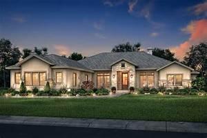 Ranch House Plan - 4 Bedrooms, 3 Bath, 3044 Sq Ft Plan 50-382