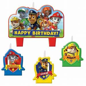 Paw Patrol Set : paw patrol candle set wholesale paw patrol party supplies ~ Whattoseeinmadrid.com Haus und Dekorationen