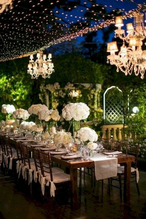 romantic outdoor wedding reception ideas oosile
