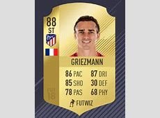 Antoine Griezmann's 99Rated Card On FIFA 18 Is The