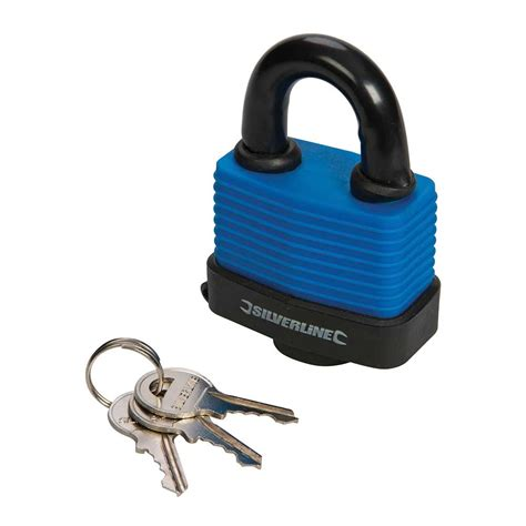 silverline padlock resistant weather