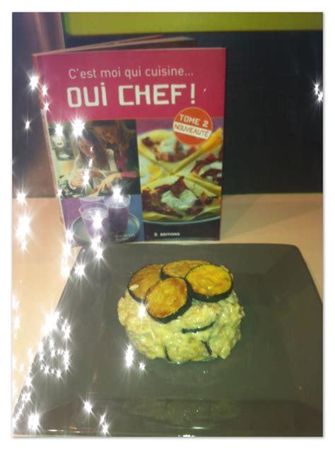 c est moi qui cuisine oui chef tome 1 la popotte de julie risotto aux courgettes et parmesan