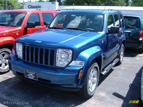 2009 Jeep Liberty by 2009 Water Blue Pearl Jeep Liberty Sport 4x4