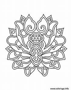 Dessin Fleurs De Lotus : coloriage hugo lescargot mandala fleur de lotus dessin ~ Dode.kayakingforconservation.com Idées de Décoration