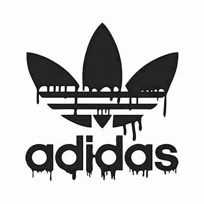 Adidas Sticker Dripping Bloed Blood Stickers Logos