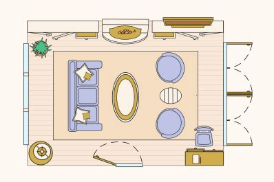 10 Ways to Lay Out a Living Room: Sample Floorplans