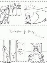Joseph Coloring Bible Pages Story Jail Sheet Sold Into Children Slavery Printable Sheets Christian Pdf Remarkable Printables Stories Ministry Para sketch template
