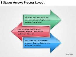 business management consultants  stages arrows