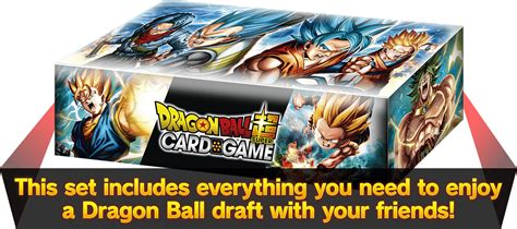 dragon ball super card game draft box  product