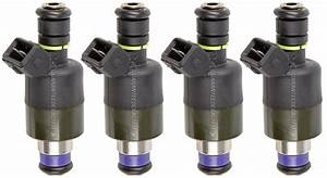 1997 Chevrolet Cavalier Fuel Injector Set Parts From Car