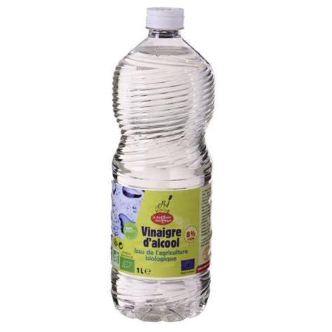 vinaigre d alcool blanc cuisine vinaigre d 39 alcool bio 8 1 liter la droguerie écologique