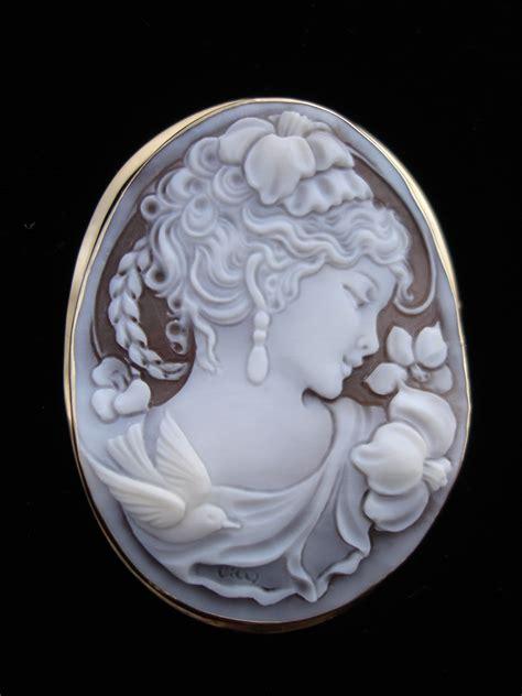 cameo  coral jewelry  scognamiglio  wholesale price
