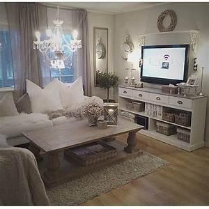 Chic Home Living : 7 astounding shabby chic living room ideas chic living ~ Watch28wear.com Haus und Dekorationen