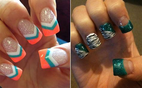 Various Options for Teal Nail Designs 2018   Goostyles.com