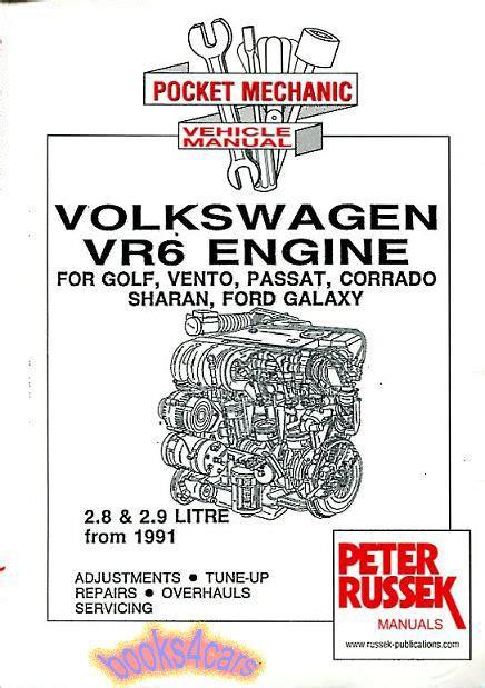 service and repair manuals 1985 volkswagen golf regenerative braking volkswagen vr6 engine shop manual service repair book corrado passat golf jetta ebay