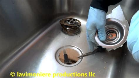 Kitchen Sink Drain Leaking At Basket Strainer  Youtube