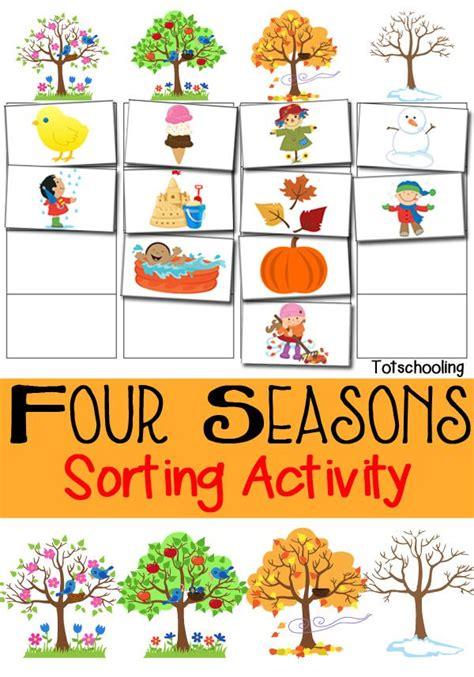 four seasons sorting activity free printable creative 221   0612d321bc70eaca12034640d1204ad0