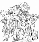 Autobot Lineart Beamer Tf Deviantart Gn Cast sketch template