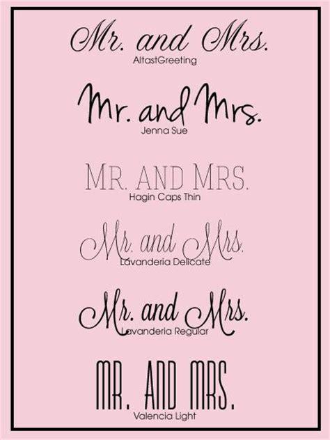 wedding fonts paperblog
